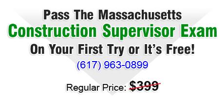 Construction Supervisor License Massachusetts CSL Exam Prep